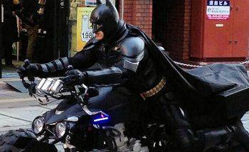 Mais qui est donc ce Batman qui se balade sur les routes de Chiba ?