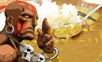 Capcom commercialise un curry Dhalsim au Japon