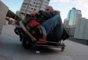 Nouvelle démonstration du Crazy Cart à Paris par Ali Kermani