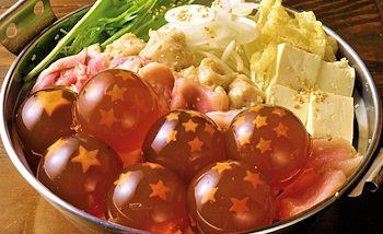 Japon : Découvrez le Dragon Ball Nabe de Danke Dinning
