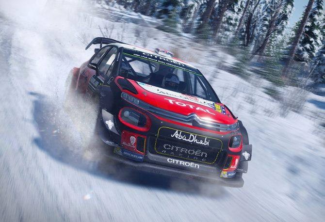 Test de WRC 7 sur Xbox One