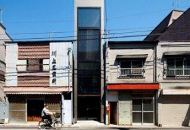 Japon: Une maison qui fait moins de 2 mètre de large
