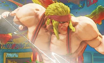Street Fighter V : Alex est disponible