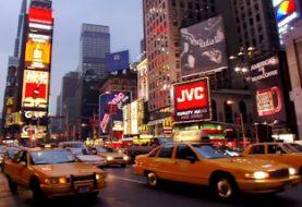 Une vidéo en haute résolution de New York tournée en 1993