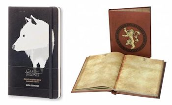 HBO Shop : Des carnets aux couleurs de Game of Thrones