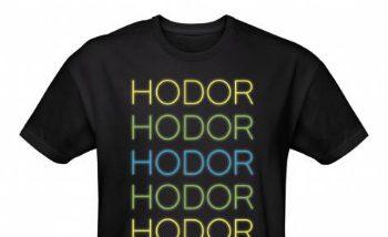 Hodor, Hodor Hodor Hodor ! Hodor Hodor !