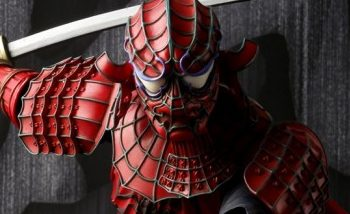 Une figurine de Spiderman version samurai par Tamashii Nations
