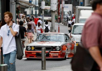 Max Verstappen et Daniel Ricciardo en Kaido Racer dans les rues de Tokyo