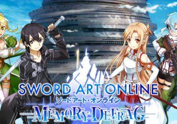 Bandai Namco annonce Sword Art Online Memory Defrag sur smartphones