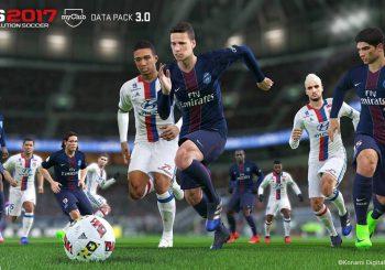 Le Pack de Données 3 de Pro Evolution Soccer 2017 est disponible