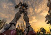 Un Time Lapse pour le désassemblage du Gundam RX-78-2 d'Odaiba