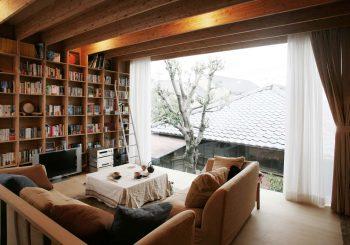 Japon : Encore un bel exemple d'une petite maison en plein Tokyo