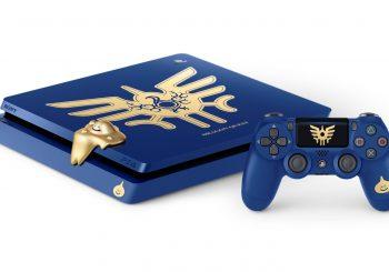 Sony dévoile une édition Dragon Quest pour la Playstation 4 Slim