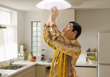 Piko Taro et le gouverneur de Tokyo font la promo des ampoules LED