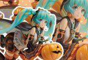 Union Creative dévoile une figurine d'Hatsune Miku spéciale Halloween