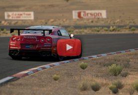 Gran Turismo Sport Beta: Replay en Nissan GT-R Gr.4 sur Willow Springs Raceway