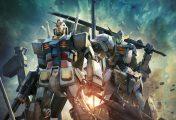 L'artiste Lena Lena réaliste une fresque sur tableau noir pour les 15 ans de Gundam Vs