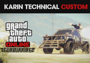 Le pick-up armé Karin custom est disponible dans GTA Online