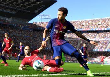 La bêta en ligne de PES 2018 est disponible sur Playstation 4 et Xbox One