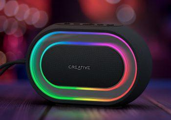 L'enceinte portable Bluetooth lumineuse Creative Halo est disponible