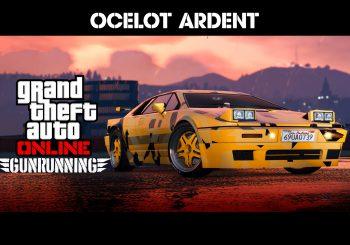 L'Ocelot Ardent est disponible dans Grand Theft Auto Online