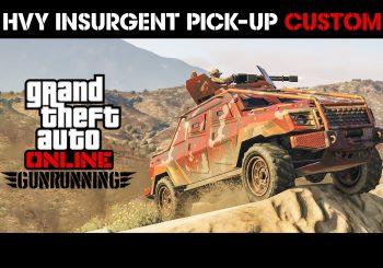 Le pick-up HVY Insurgent custom est disponible dans GTA Online