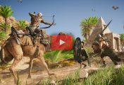 Assassin's Creed Origins: 18 Minutes de gameplay en 4K sur Xbox One X