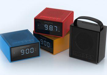 Creative dévoile la Chrono, une enceinte qui peut faire radio réveil