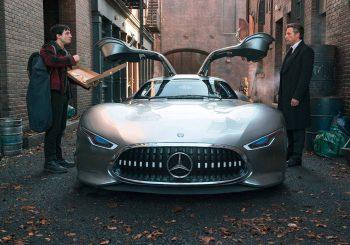Batman roule en Mercedes-Benz AMG Vision Gran Turismo