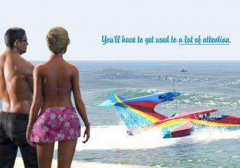 GTA Online fête Halloween et l'avion Western Seabreeze est disponible