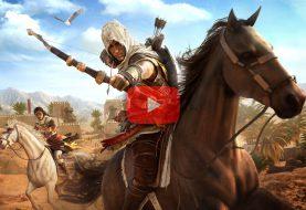 Vidéo découverte Assassin's Creed Origins sur Playstation 4 Pro
