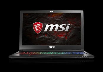Le PC portable gaming MSI GS63 7RD est disponible