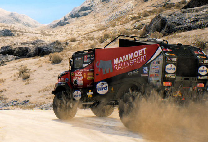 Test de Dakar 18 sur Xbox One X
