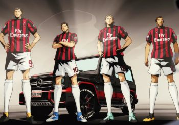 AC Milan Vs Gamba Osaka façon Captain Tsubasa pour Toyo Tires