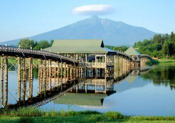 Découvrez le pont de Tsuru no Mai avec TokyoStreetView