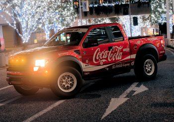 Gran Turismo Sport 1.10 : Un Ford Raptor Coca Cola