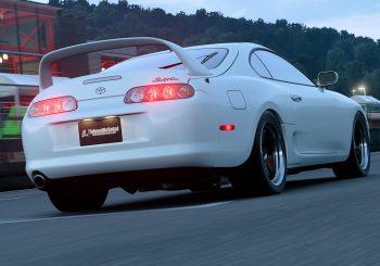 GT Sport 1.11 : La Toyota Supra RZ sur Autodrome Lago Maggiore Centre