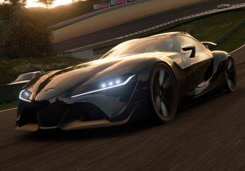 GT Sport 1.11 : La Toyota FT-1 sur Autodrome Lago Maggiore Ouest