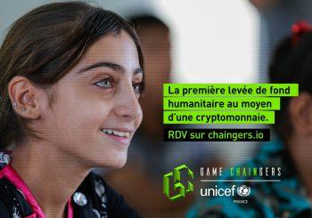 Game Chaingers : Quand l'UNICEF réinvente la levée de fonds grâce à l'Ethereum