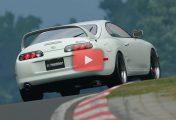 Gran Turismo Sport : Un Replay en Toyota Supra sur le Nürburgring