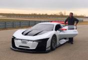 Audi et Polyphony Digital dévoilent l'Audi e-tron Vision Gran Turismo