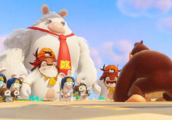 Un trailer de lancement pour Mario + The Lapins Crétins Kingdom Battle Donkey Kong Adventure