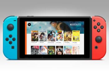Le service de BD en ligne Izneo arrive sur Nintendo Switch